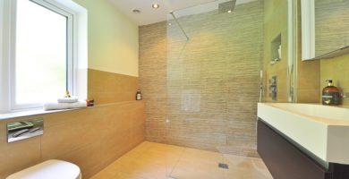 papel de parede para box de banheiro