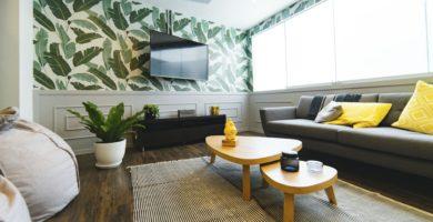 papel de parede para sala de TV mercadolivre